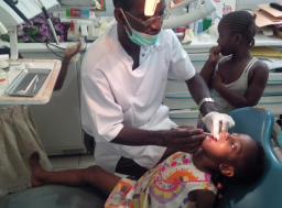 Our free dental clinic will treat over 3000 patients this year